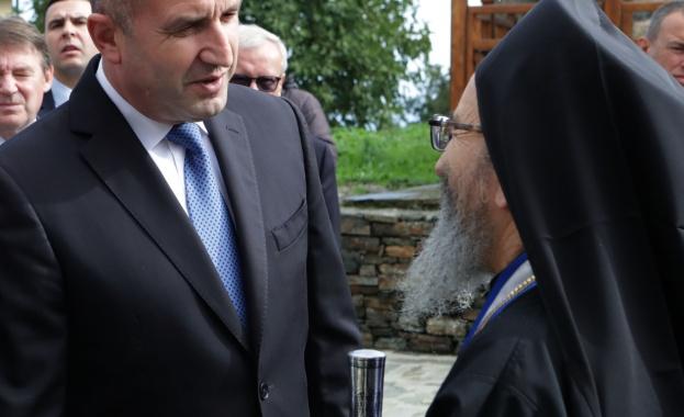 Президентът Румен Радев: Света гора векове наред има своето благотворно влияние в православната общност