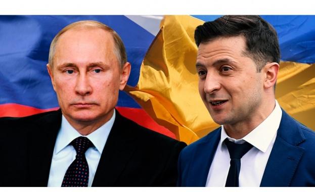 Украинският президент Владимир Зеленски призова Владимир Путин да се срещнат