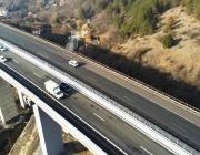 """Продължава ремонтът на гредите в платното за Варна на виадукта при 19-ти км на АМ """"Хемус"""""""