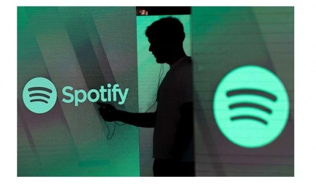 Гигантът за музикален стрийминг Спотифай (Spotify) съобщи, че броят на