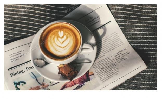 Водещи заглавия на първите страници в. 24 часа - 7