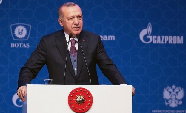 Очаква се президентът на Турция Реджеп Тайип Ердоган да проведе