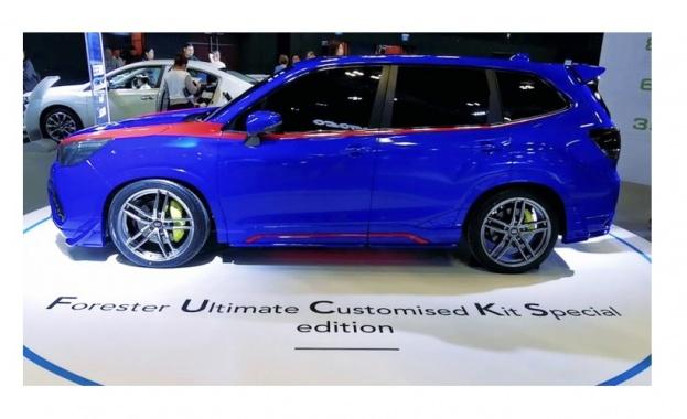 Subaru представи Forester с нецензурна абревиатурa (Видео)