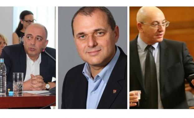 Трима са претендентите за стола на Нено Димов