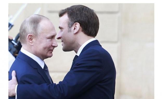 Путин обсъди с Макрон и Конти ситуацията в Либия и Иран