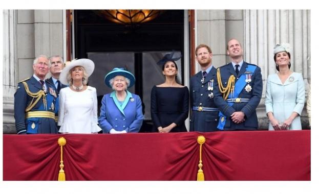 Кралица Елизабет II: Аз и семейството ми изцяло подкрепяме Меган и Хари