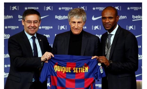 """Кике Сетиен е новият треньор на """"Барселона"""""""