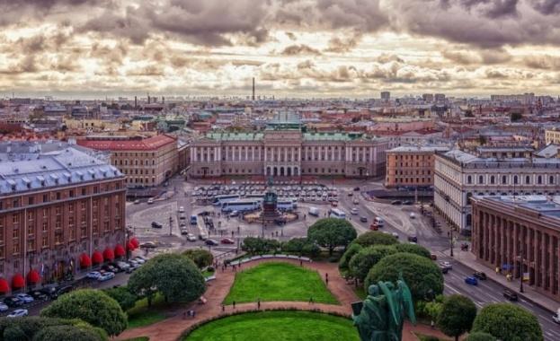 Температурен рекорд бе отбелязан в Санкт Петербург, след като живачният