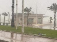 """Бурята """"Глория"""" връхлетя Испания"""