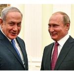 Путин и Нетаняху обсъдиха двустранното сътрудничество между страните им