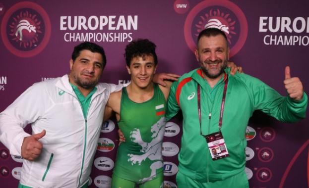 Голям успех! Едмонд Назарян е европейски шампион!