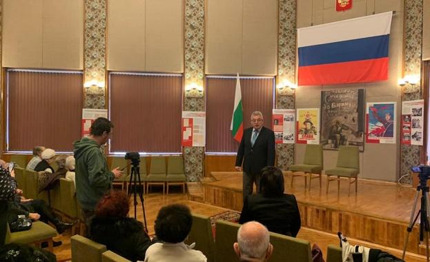 """В Генералното консулство на Руската федерация във Варна бяха заснети части от филма """"Спомени от фронта"""""""