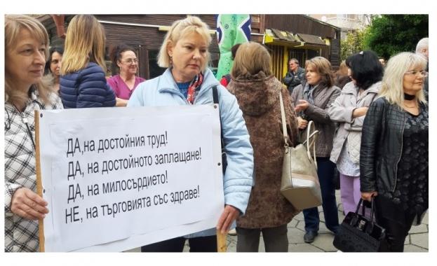 Протестите на медсестрите продължават, след като кабинетът отказа да подпише споразумени