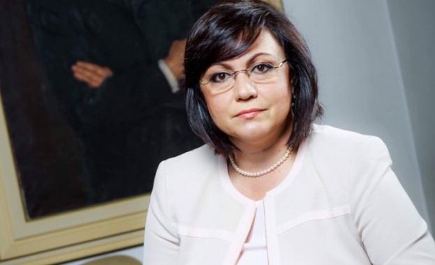 Корнелия Нинова: За България е най-необходимо оставка на кабинета и предсрочни избори