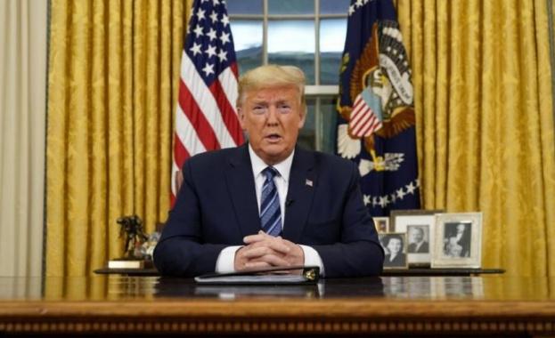 Тръмп затвори САЩ за европейци