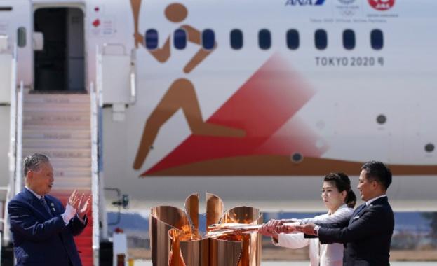 Над 55 хиляди души се стекоха да видят олимпийския огън в Япония