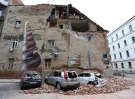 Загреб след земетресението