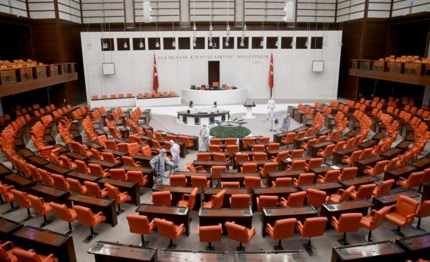 Термокамери пазят турския парламент от вируси