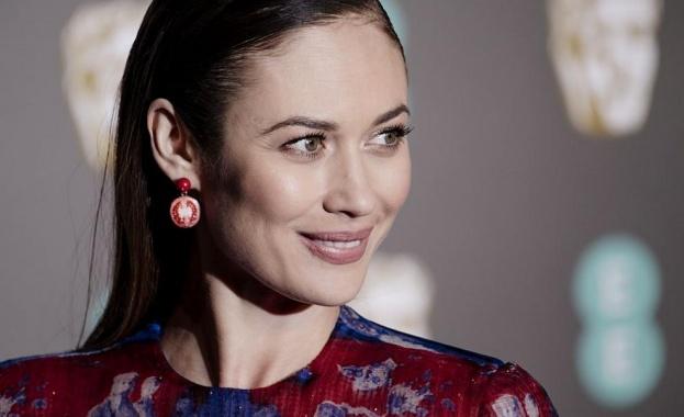 Известната актриса Олга Куриленко, която изпълни ролята на момичето на