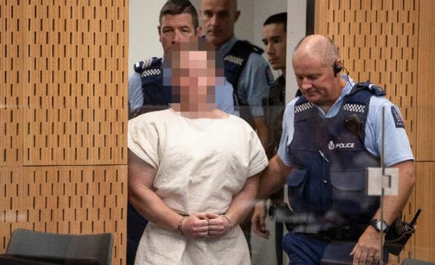 Нападателят от Крайстчърч внезапно се призна за виновен