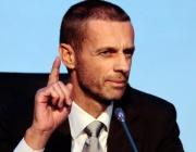 Босът на УЕФА обяви краен срок за подновяване на първенствата