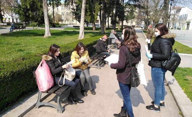 Младежкото обединение в БСП Русе също се включи в доброволческата