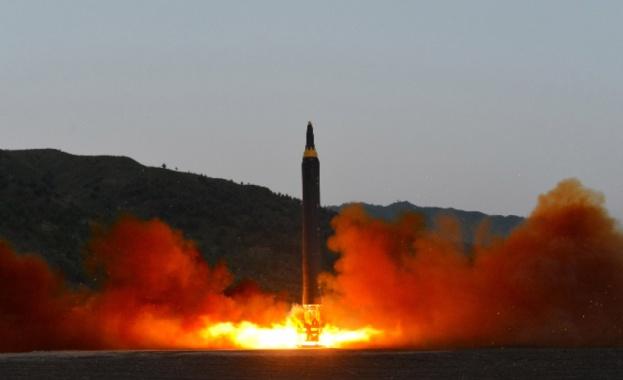 Северна Корея е извършила днес изпитание на две балистични ракети