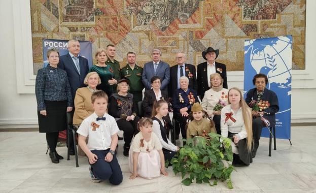 Първата церемония по връчване на медали на руски ветерани по случай 75-годишнината на Победата се състоя в София