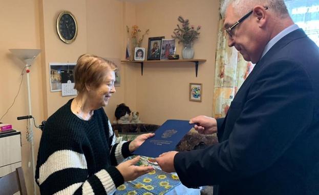 Генералният консул на Русия във Варна Владимир Климанов връчи медали на руските ветерани