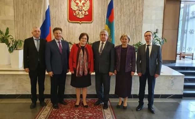 В Посолството на Русия в България се състоя работна среща