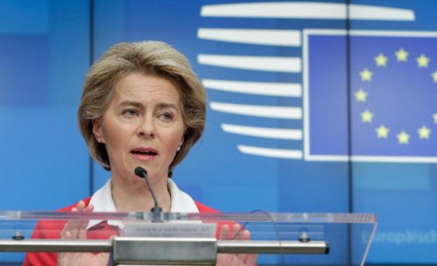 В изявление на председателя на Европейската комисия Урсула фон дер
