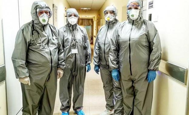 Лекарите от Военномедицинска академия (ВМА) трогнаха България. Ангелите в бяло,