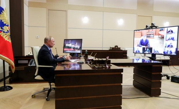 Руcкият прeзидeнт Влaдимир Путин oбяви, чe удължaвa въвeдeния в cтрaнaтa