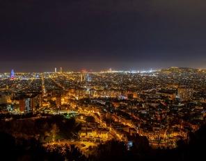 Барселона - перлата на Каталуния, сега е пуста и тиха