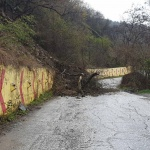 Свлачище над Асеновата крепост