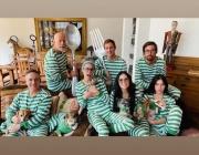 Брус Уилис и Деми Мур отново заедно – забавляват се по пижами