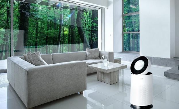 Allergy UK гарантира, че пречиствателите на LG предпазват от познати