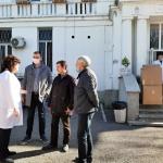 БСП-Бургас дари предпазни шлемове на Белодробната болница в града