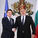 Борисов пред Конте: Трябва да бъдем единни и солидарни