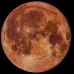 Тази нощ наблюдавахме Супер розова Луна