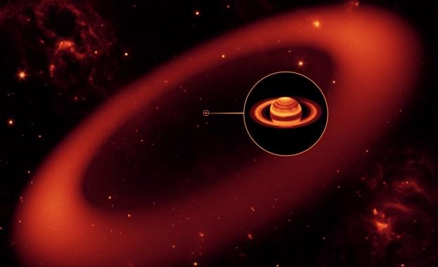Учени разкриха защо на Сатурн е горещо