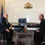 Премиерът се срещна и с Мангъров, благодари му за препоръките