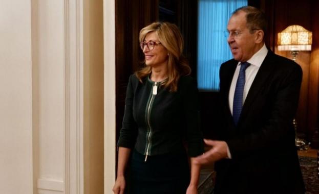 Вицепремиерът и министър на външните работи Екатерина Захариева обсъди в
