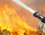 Пожар изпепели дома на шестчленно семейство