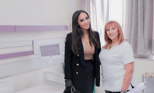 Прекрасната певица Мария Илиева дари модерно реанимационно легло от висок