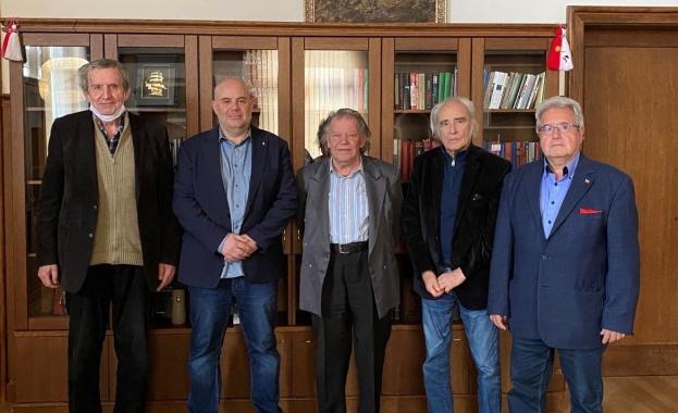 Главният прокурор на Иван Гешев се срещна с доайените на