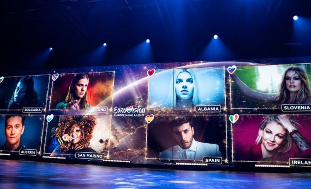 Евровизия обедини милиони зрители от цял свят със своето виртуално музикално шоу