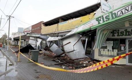 Австралия беше ударена от най-жестоката буря от 10 години насам