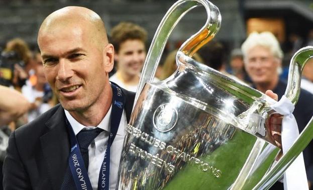 Треньорът на Реал (Мадрид) Зинедин Зидан беше избран за най-добър