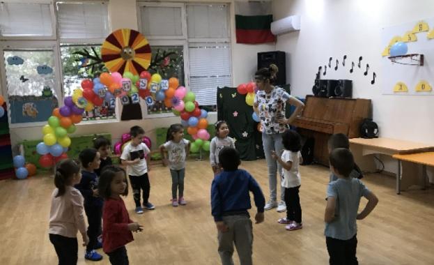 Детските градини във Велико Търново започнаха безпроблемно работа днес, като